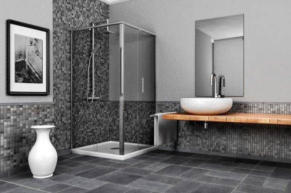 Plombier pour la création et aménagement de douche à l'italienne à Aussois